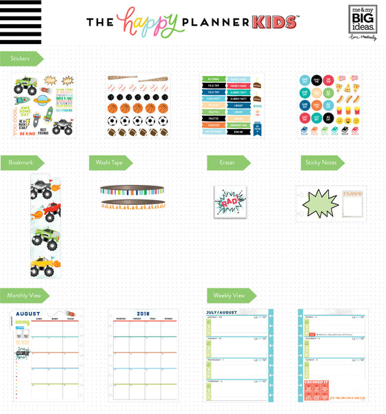 2018 - 2019 The Happy Planner KIDS™ - Cool Dude