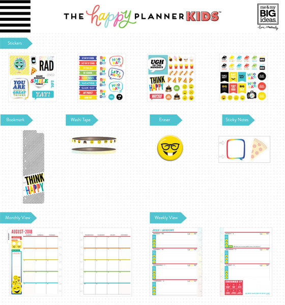 2018 - 2019 The Happy Planner KIDS™ - Keep Laughing