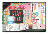 2018 - 2019 Classic Happy Planner® Box Kit - Stay Wild - Student