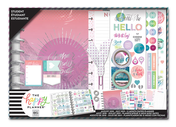 2018 - 2019 Classic Happy Planner® Box Kit - Explore More - Student