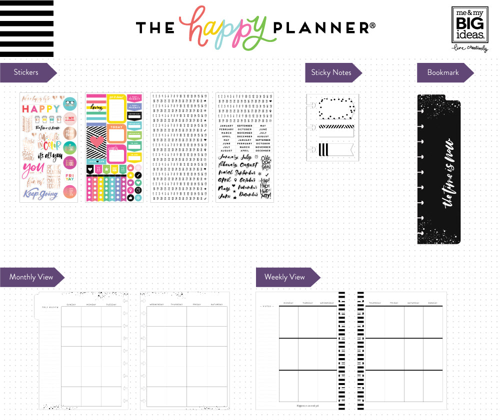 the happy planner 12 month box kit plan a happy life me my