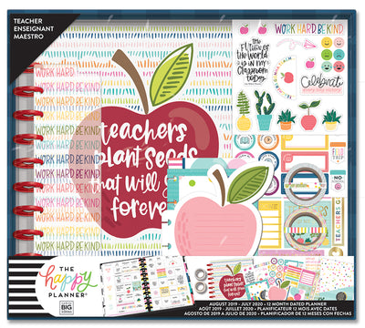 BIG Teacher Box Kit - Teachers Help Us Grow - 12 Months (2019-2020)