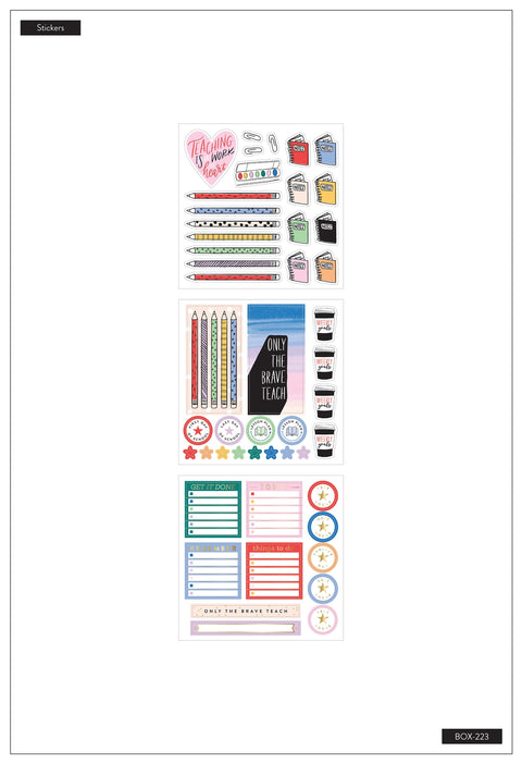 Classic Teacher Box Kit - Work of Heart - 12 Months - Undated