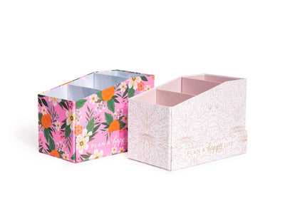Floral Sticker Book Storage