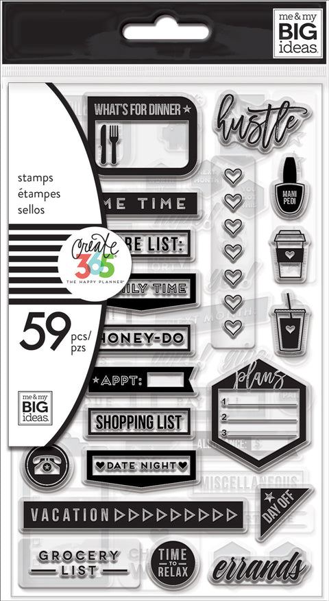 Clear Stamps - Everyday