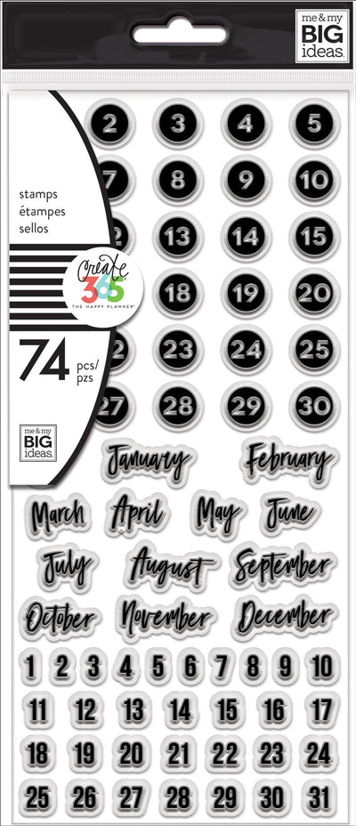 Clear Stamps - Dates