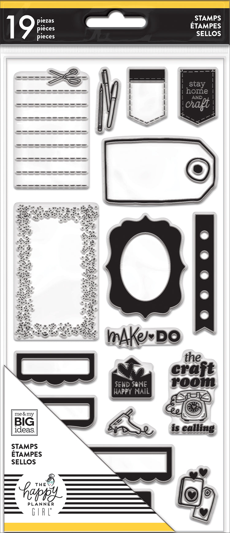 Clear Stamps - Miss Maker