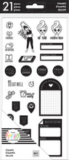 Clear Stamps - Fitness/Wellness