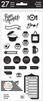 Clear Stamps - Recipe