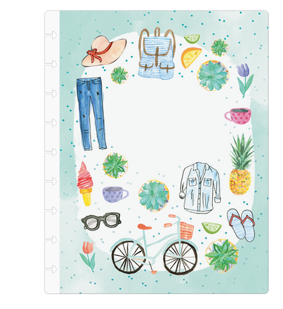 Classic Custom Happy Planner - Everyday Essentials Seasonal - 12 Months