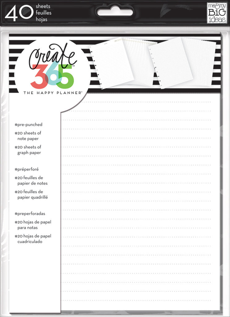 Note & Graph Paper – Me & My Big Ideas