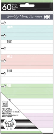 Classic Weekly Meal Planner - Half Sheets - Daydreamer