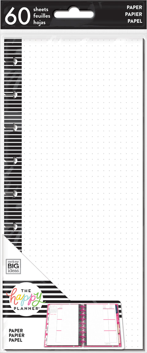 Half Sheet Note Paper - Classic - Dot Grid