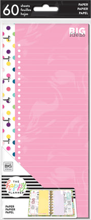 Classic Half Sheet Note Paper - Colorful Dots