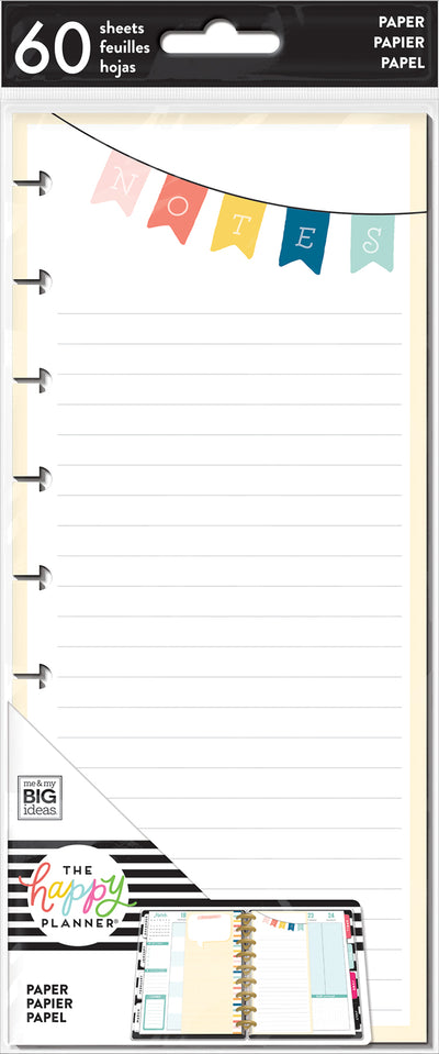 Classic Half Sheet Note Paper - Notes Banner