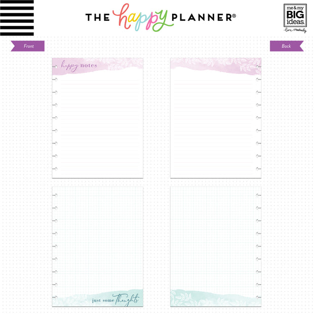 Classic Note Paper - Happy Notes
