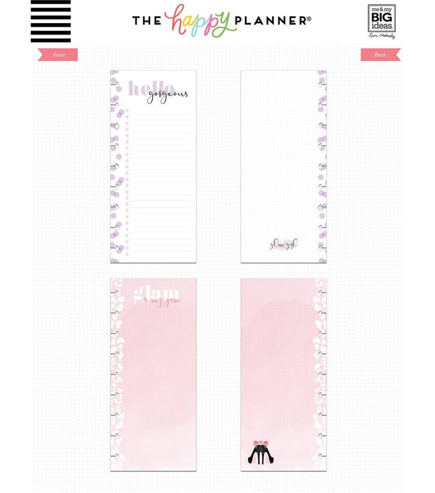 Classic Half Sheet Note Paper - Glam Girl