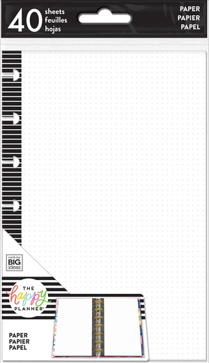 Mini Note Paper - Dot Grid