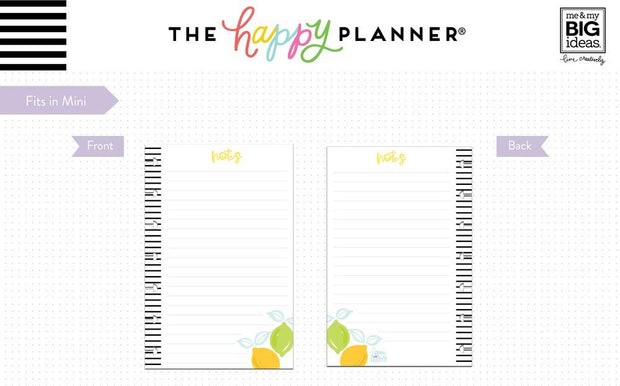 Mini Note Paper - Happy Hostess