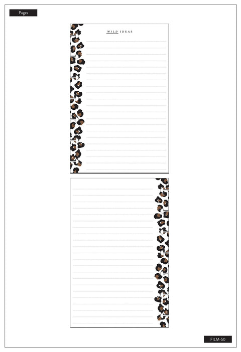 Mini Filler Paper - Leopard