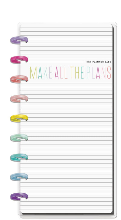 Classic Half Sheet Notebook - Planner Babe