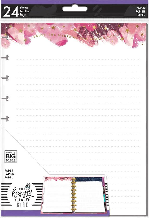 Classic Note Paper - Stargazer with Foil