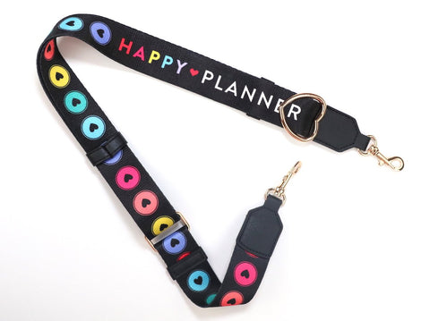 Happy Disc Planner Purse Strap
