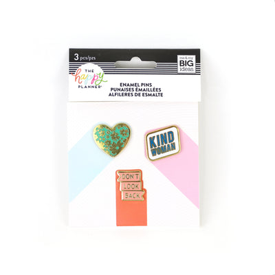Womankind Enamel Pins