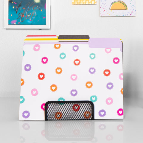 Desk File Folders - Happy Things