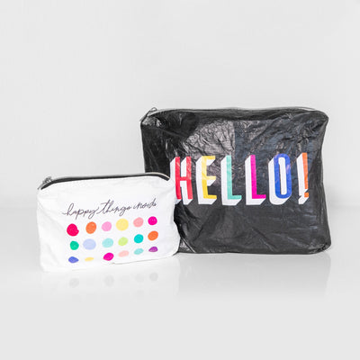 Flexible Pouch - Hello