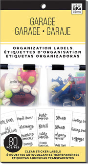 Garage - Organization Labels