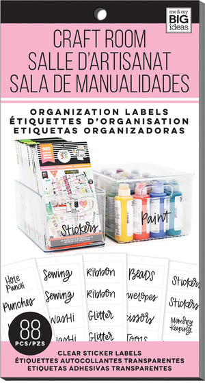 Craft Room - Organization Labels