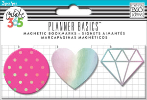 Magnetic Page Clips - Neon - 3 Pack