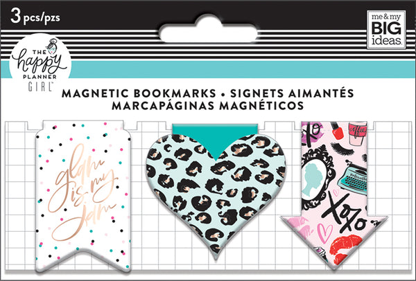 Magnetic Page Clips - Glam Girl
