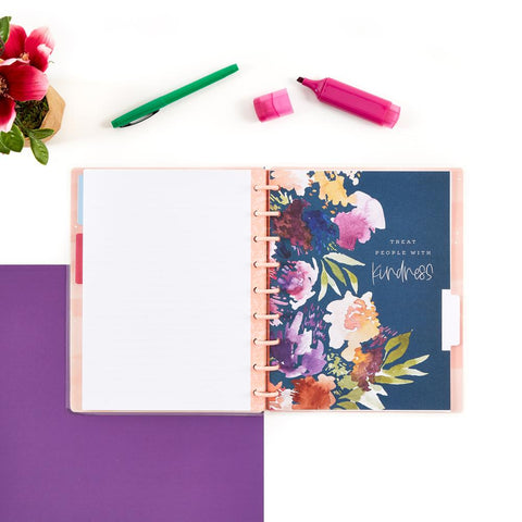 New Beginnings Classic Happy Notes Notebook