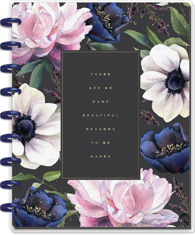Beauty In Florals Classic Happy Notes Notebook