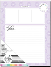 Block Paper Pad - Big Plans - Planner Babe