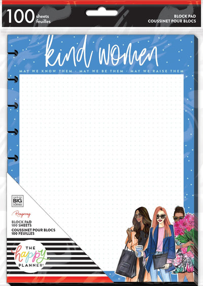 Classic Block Paper Pad - Rongrong - Kind Women