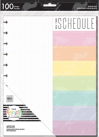 BIG Block Paper Pad - Pastel