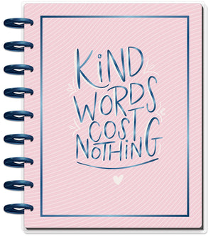 Classic Guided Journal - Kind Words Cost Nothing - Gratitude
