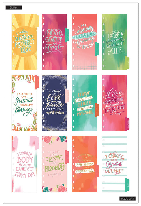 Skinny Classic Happy Planner® - Happy Life - 12 Months