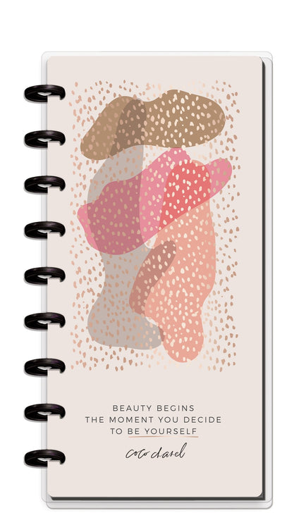 Skinny Classic Happy Planner® - Beauty Begins - 12 Months