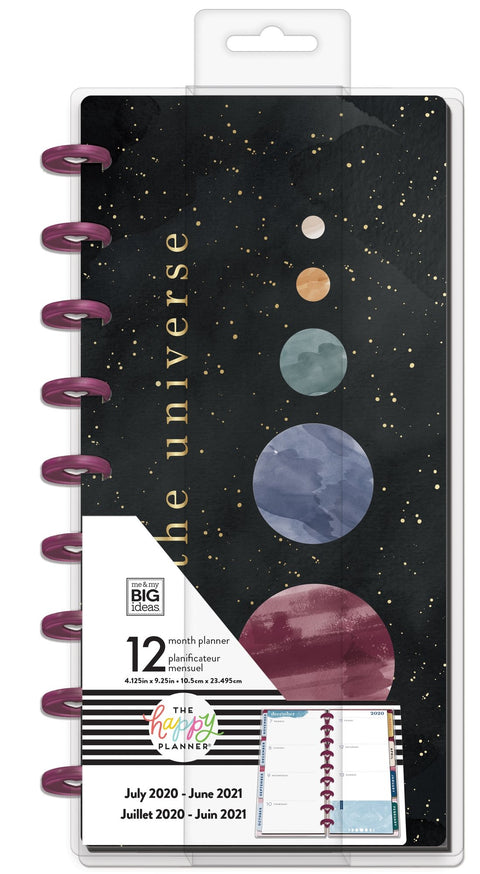 Skinny Classic Happy Planner® - Trust the Universe - 12 Months