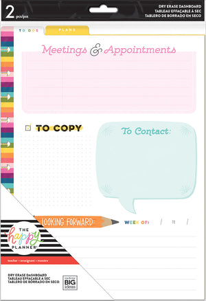 BIG Dry Erase Boards - Teacher - Meetings