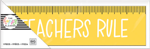 Desk Plaque - Teachers Rule