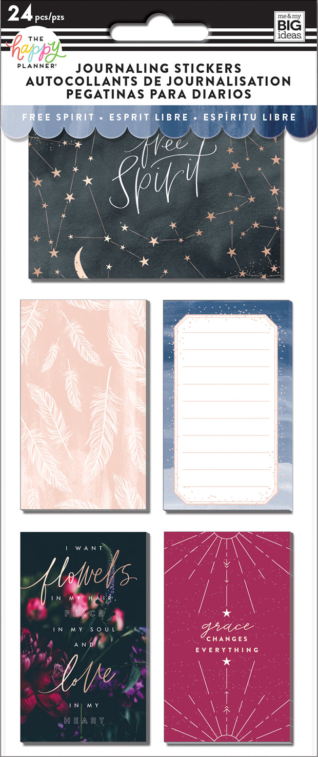 Journaling (Flip) Stickers - Boho