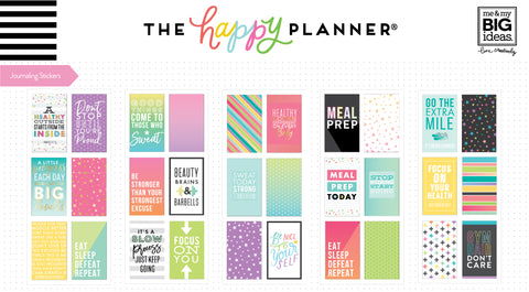 Journaling (Flip) Stickers - Fitness