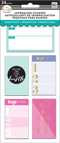 Journaling (Flip) Stickers - Productivity