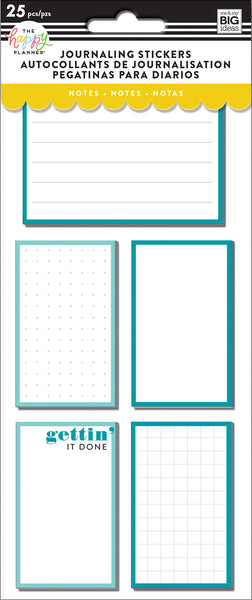 Journaling (Flip) Stickers - Notes