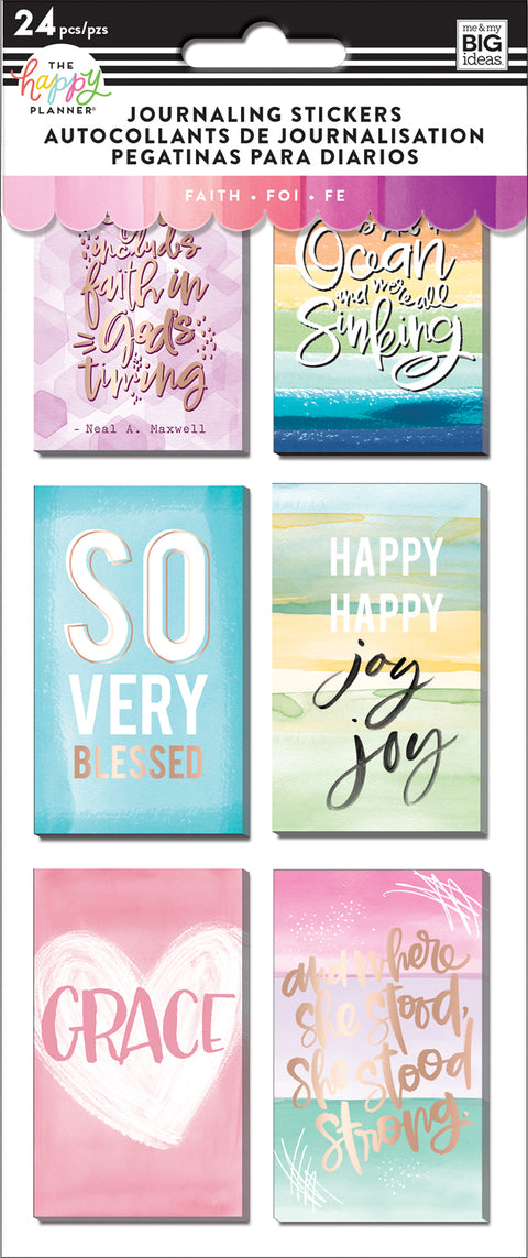 Journaling (Flip) Stickers - Faith
